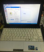 Netbook MSI U120 atom N270, 10 pollici, WiFi,  Webacm