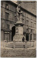 cartolina BOLOGNA monumento a galvani
