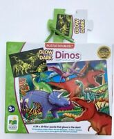 Glow in the Dark Dinos Floor Puzzle Creative Play Kids Jigsaw New *Fast Dispatch