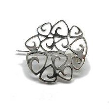 Stilvoll Silber brosche 925  A000145 EMPRESS
