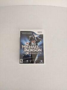 Michael Jackson: The Experience (Nintendo Wii, 2010) ** SEALED **