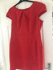 Ladies Red Dress Size 18