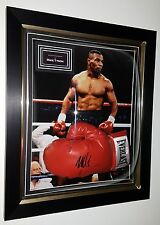 *** Rare MIke Tyson SIGNED Boxing GLOVE Autograph Display *** NEW DOME DISPLAY
