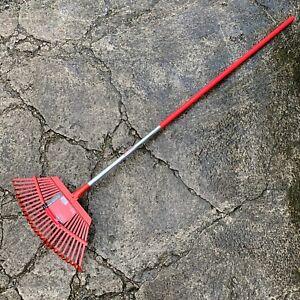 "Corona Fixed Tine Leaf Rake MAX - 19"" Head - 25 Tine - Lawn, Garden, Spring"