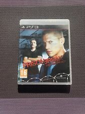 Prison Break The Conspiracy - Jeu Playstation 3 PS3 - Complet Pal FR [RARE]