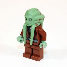 LEGO PERSONAGGIO STAR WARS Personaggio Kit Fisto + Cape Palpatine 's Arres 9526 sw422-ws211