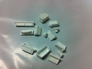 13pcs Soft Silicone Laptop PC Dust Stopper Dustproof Plug Cover/ Cap US