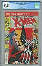 True Believers: X-Men Greycrow #1 CGC 9.8 Reprints Uncanny X-Men 211 Marauders