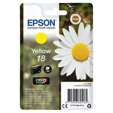 Genuine Epson 18 Daisy Yellow Ink for XP212 XP205 XP305 XP322 XP315