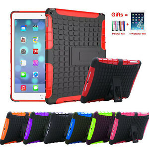 Heavy Shockproof Stand Hard Case Cover For Apple iPad (2nd 3rd 4th Generation)