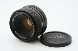 Ex CLEAN GLASS Yashica Lens DSB 55mm 1:2 for Contax / Yashica mount 21653