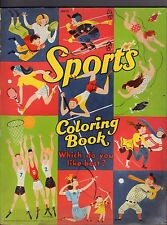 Sports Saalfeuld Publishing Coloring Book Unused VG 062816DBEL