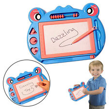 Dazzling Toys Magnetic Drawing Board Kids Doodle Drawing Writing Blue Sketch Pad