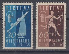 Litauen (Lietuva / Lithuania) - Michel-Nr. 419-420 gestempelt (ex Satz 417-420)