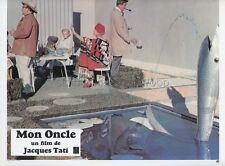 JACQUES TATI MON ONCLE  1958 VINTAGE LOBBY CARD #7  PHOTO D'EXPLOITATION