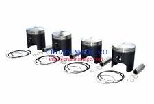 SUZUKI RG500 PISTON 0.5mm OVERSIZE  SETS OF FOUR 10-RG500PS-1