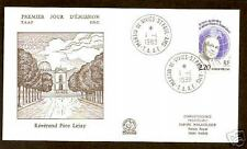 FRENCH ANTARCTIC 1988 PERE LEJAY FDC
