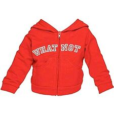 MUPPETS WHATNOT RED HOODIE Clothes Outfit Boy FAO Schwarz Workshop Shirt NEW