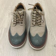 Timerland Mens Earthkeepers Canvas & Leather Oxford Shoes Anti-Fatigue US 8.5