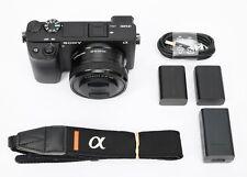 Sony Alpha a6400 24.2MP Mirrorless Digital Camera with 16-50mm Lens (Black)
