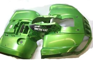 2009 Arctic Cat 700 H1 4x4 Plastic Fenders Mud Pro Green (Pair Read Notes)
