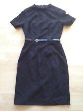 Tolles Damen MANGO Kleid schwarz Größe m Business Sommer Freizeit mit Gürtel Neu