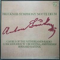 Bruckner: Symphony No. 7 / Te Deum / Haitink / Philips 2 LP box 6700 038