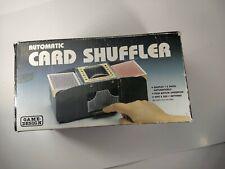 Automatic Card Shuffler 2 Deck Casino Playing Cards Sorter Poker Games Black