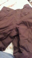 Burton Snowboarding Pants - Dark Brown - Girl's Large - Insulated