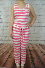 NEXT LADIES 100% COTTON ALL IN ONE PYJAMAS NIGHTWEAR NEW