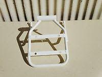 Honda White Ruckus Luggage rack