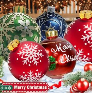 1PC Large Christmas Decorations Balls For Tree Outdoor Xmas Home Gift Ball