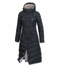 Waldhausen ELT Saphira Long Quilted Hooded Horse Pony Winter Riding Vented Coat