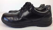 Dansko Walker Shoes Men's Work Occupational Black Leather Derby Sz 11.5-12/45