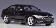 Welly 1:18 BMW 335i Racing Car Vehicle Diecast Model Black NEW IN BOX