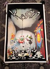 Blacklight Poster 2002 KORN #805 VERY RARE - Heavy Metal Rock Band Untouchables