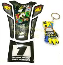 KTM ,ROYAL ENFIELD , YAMAHA , HONDA ,Rossi  VR46 tankpad & Glove Keychain Combo!