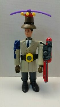 Disney Inspector Gadget McDonalds Happy Meal Toy Complete Set 1999 w Hat  Belt