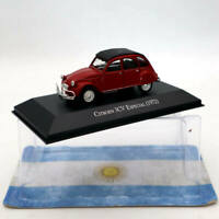 IXO Altaya Citroen 3CV Especial 1972 Red 1/43 Diecast Models Limited Edition