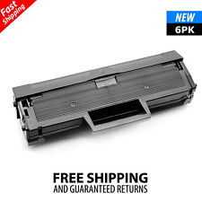 6PK MLT-D101S Toner Cartridge for Samsung ML-2165W SCX-3400 SCX-3405W 3405FW