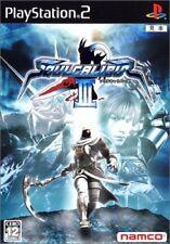 Used PS2 Soul Calibur III 3 Namco  SONY PLAYSTATION 2 JAPAN