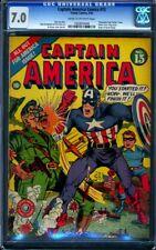 Captain America Comics #13 CGC FN/VF 7.0