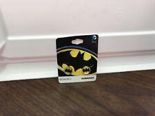 DC Comics Batman Logo Stud Earrings New