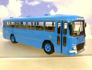 IXO/HACHETTE 1/43 FIAT 306/3 CANSA INTERURBANO BUS/COACH BLUE SALERNO ITALY 1962