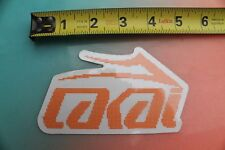 LAKAI Footwear Shoes Girl Skateboards LS SK8 Vintage Skateboarding STICKER