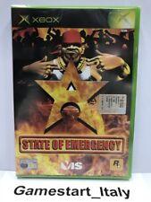 STATE OF EMERGENCY (XBOX) VIDEOGIOCO NUOVO SIGILLATO - ROCKSTAR GAMES - NEW PAL