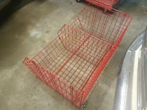 Stack able Metal Wire Storage Shelving Basket Shop Display Retail Racking Unit