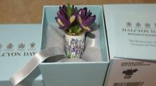 Halcyon Days Iris Flower Bouquet Bonbonnieres Nib