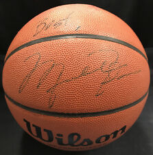 Michael Jordan Signed Wilson Basketball Bulls Inscribed Best Auto JSA COA