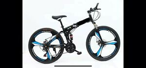 "Folding bike 26"" With Disk Break (Rims)"
